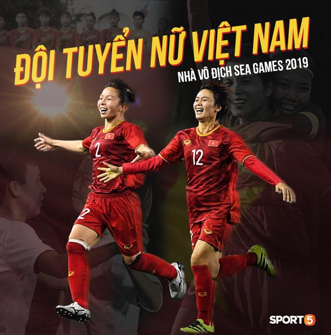 Xót xa đội trưởng tuyển nữ Việt Nam gục ngã đau đớn, phải nhờ bác sĩ cõng ra khỏi sân khi đồng đội ăn mừng huy chương vàng SEA Games - ảnh 12