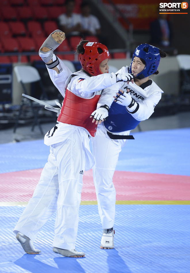 Bạc Thị Khiêm, nữ vận động viên Taekwondo khiến toàn bộ khán giả Philippines phải câm lặng chỉ sau một cú đá - ảnh 3