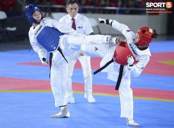 Bạc Thị Khiêm, nữ vận động viên Taekwondo khiến toàn bộ khán giả Philippines phải câm lặng chỉ sau một cú đá - ảnh 2
