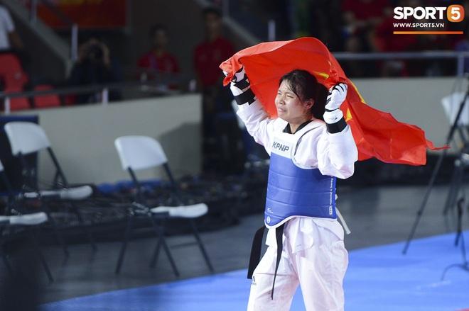 Bạc Thị Khiêm, nữ vận động viên Taekwondo khiến toàn bộ khán giả Philippines phải câm lặng chỉ sau một cú đá - ảnh 7