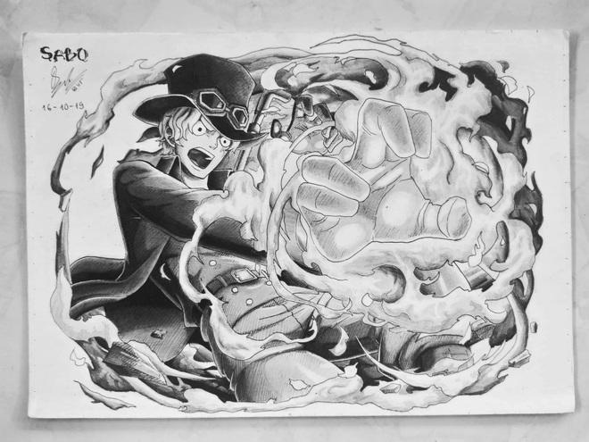 Những bức vẽ như tranh chụp của nam sinh cấp 3 gửi tới thần tượng khiến Sky phải đứng hình mất vài giây vì độ đẹp trai lạc lối của Sơn Tùng - ảnh 8