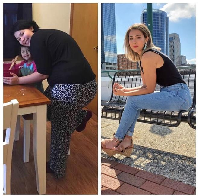 Bị tăng cân không kiểm soát sau cú sốc sảy thai, cô gái lấy lại vóc dáng bằng cách ăn và tập luyện khoa học - ảnh 8