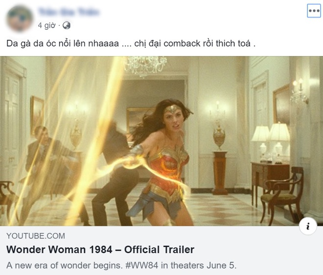 Dân mạng phản ứng bùng nổ với trailer Wonder Woman 1984 nhưng mải lo xin link nhạc quên luôn chị đẹp! - ảnh 1