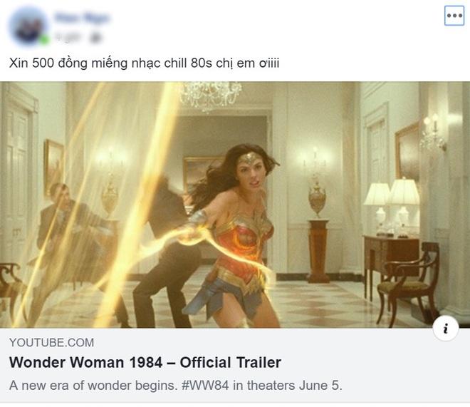 Dân mạng phản ứng bùng nổ với trailer Wonder Woman 1984 nhưng mải lo xin link nhạc quên luôn chị đẹp! - ảnh 4