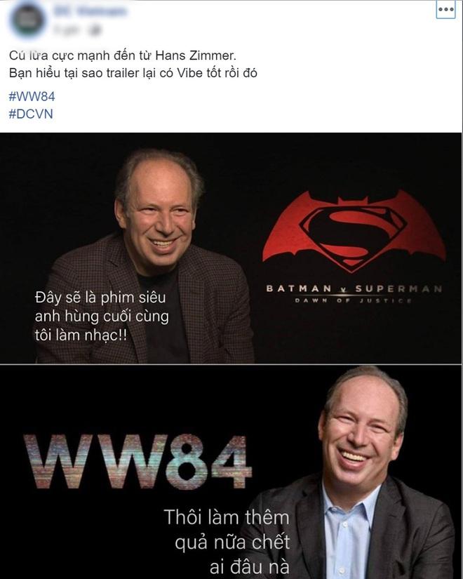 Dân mạng phản ứng bùng nổ với trailer Wonder Woman 1984 nhưng mải lo xin link nhạc quên luôn chị đẹp! - ảnh 8