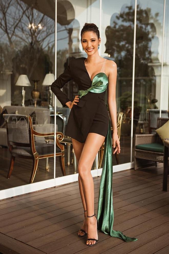 Chiến lược thời trang cao tay của Hoàng Thùy tại Miss Universe: Mỗi ngày diện một màu không trùng phát nào, lần nào cũng rực rỡ chói chang - ảnh 9
