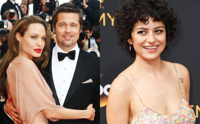 Ly hôn nhưng vẫn ghen lồng lộn, Angelina Jolie quay ra cà khịa tình mới kém 25 tuổi của Brad Pitt? - ảnh 1