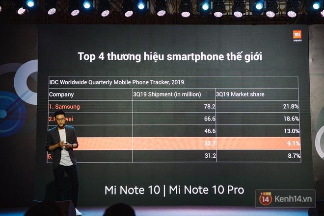 Xiaomi Mi Note10/Note10 Pro ra mắt ở Việt Nam: 5 camera 108MP đầu tiên trên thế giới, pin 5260mAh, giá từ 12,99 triệu đồng - ảnh 1
