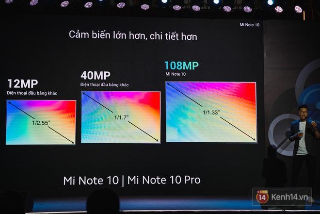 Xiaomi Mi Note10/Note10 Pro ra mắt ở Việt Nam: 5 camera 108MP đầu tiên trên thế giới, pin 5260mAh, giá từ 12,99 triệu đồng - ảnh 8