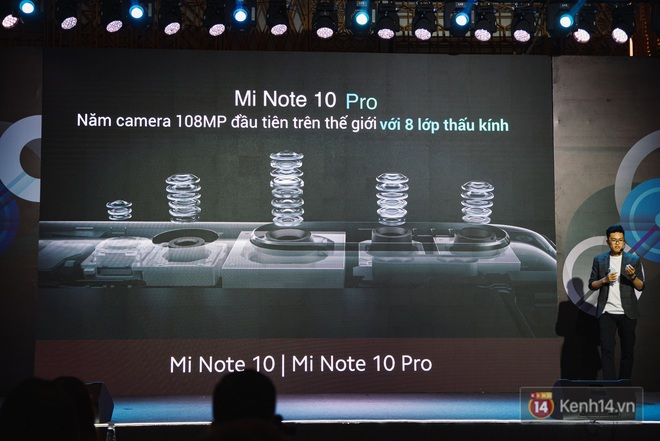 Xiaomi Mi Note10/Note10 Pro ra mắt ở Việt Nam: 5 camera 108MP đầu tiên trên thế giới, pin 5260mAh, giá từ 12,99 triệu đồng - ảnh 9