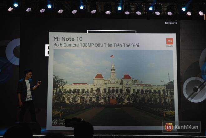 Xiaomi Mi Note10/Note10 Pro ra mắt ở Việt Nam: 5 camera 108MP đầu tiên trên thế giới, pin 5260mAh, giá từ 12,99 triệu đồng - ảnh 11