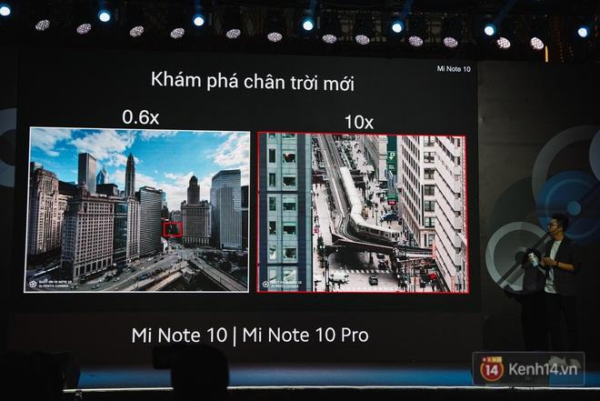 Xiaomi Mi Note10/Note10 Pro ra mắt ở Việt Nam: 5 camera 108MP đầu tiên trên thế giới, pin 5260mAh, giá từ 12,99 triệu đồng - ảnh 12