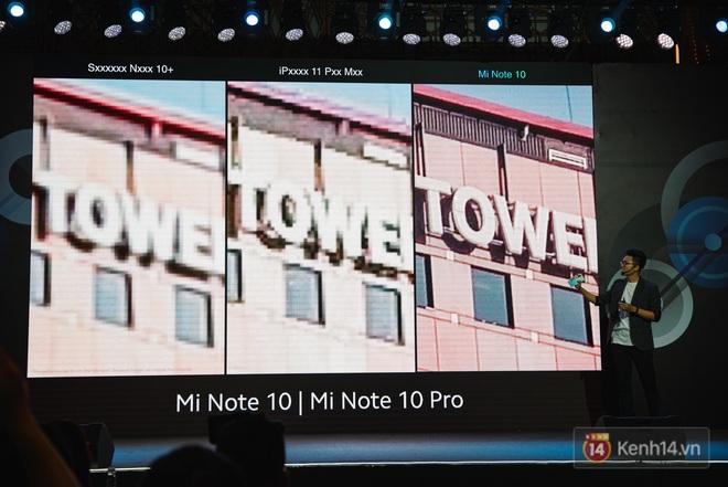 Xiaomi Mi Note10/Note10 Pro ra mắt ở Việt Nam: 5 camera 108MP đầu tiên trên thế giới, pin 5260mAh, giá từ 12,99 triệu đồng - ảnh 13