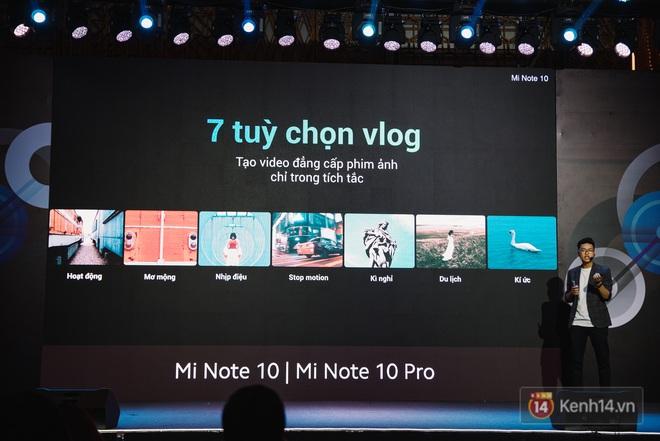 Xiaomi Mi Note10/Note10 Pro ra mắt ở Việt Nam: 5 camera 108MP đầu tiên trên thế giới, pin 5260mAh, giá từ 12,99 triệu đồng - ảnh 14
