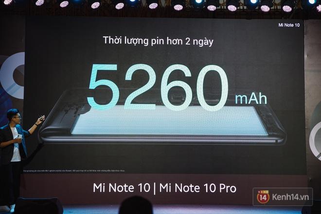 Xiaomi Mi Note10/Note10 Pro ra mắt ở Việt Nam: 5 camera 108MP đầu tiên trên thế giới, pin 5260mAh, giá từ 12,99 triệu đồng - ảnh 18