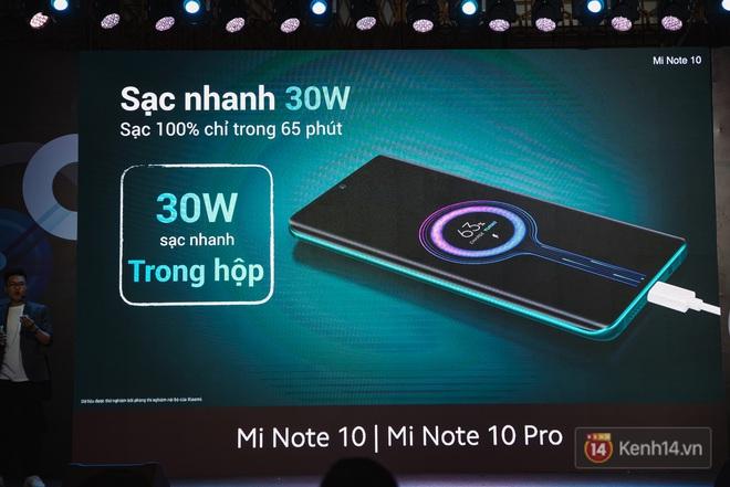 Xiaomi Mi Note10/Note10 Pro ra mắt ở Việt Nam: 5 camera 108MP đầu tiên trên thế giới, pin 5260mAh, giá từ 12,99 triệu đồng - ảnh 19