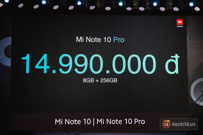 Xiaomi Mi Note10/Note10 Pro ra mắt ở Việt Nam: 5 camera 108MP đầu tiên trên thế giới, pin 5260mAh, giá từ 12,99 triệu đồng - ảnh 20