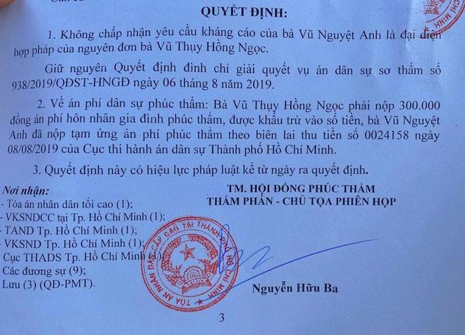 Hồi kết vụ ly hôn của bác sĩ Chiêm Quốc Thái - ảnh 2