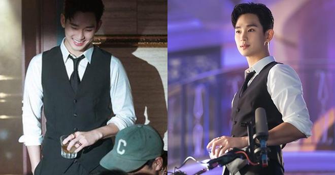 Chán làm trùm khách sạn ma Hotel Del Luna, Kim Soo Hyun đầu thai thành anh hộ lí điển trai ở phim mới - ảnh 2