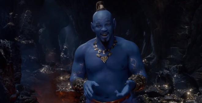 Biết trước sẽ xấu, nhưng tạo hình Thần Đèn của Will Smith trong Aladdin vẫn gây sốc vì không khác gì xì trum - Ảnh 5.