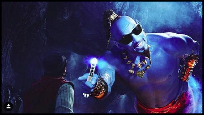 Thần Đèn Aladdin trở thành vựa muối để cư dân mạng chế ảnh nhờ tạo hình quá tệ - ảnh 6