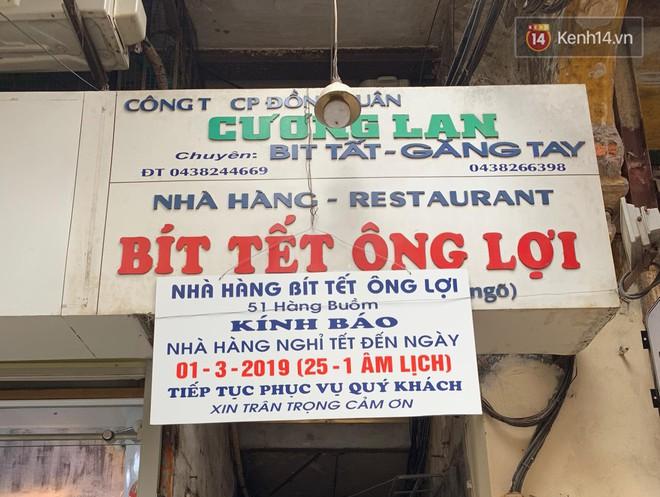 Hết Tết rồi mà vẫn còn nhiều quán xá ở Hà Nội chưa mở bán trở lại, có nơi nghỉ đến tận đầu tháng 3 - Ảnh 11.