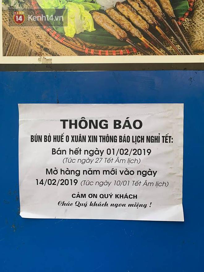 Hết Tết rồi mà vẫn còn nhiều quán xá ở Hà Nội chưa mở bán trở lại, có nơi nghỉ đến tận đầu tháng 3 - Ảnh 27.