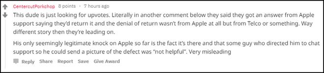Lên mạng bóc phốt om sòm iPhone XS Max lỗi, tưởng được cảm thông ai ngờ hứng gạch phản đam ỏm tỏi - ảnh 6