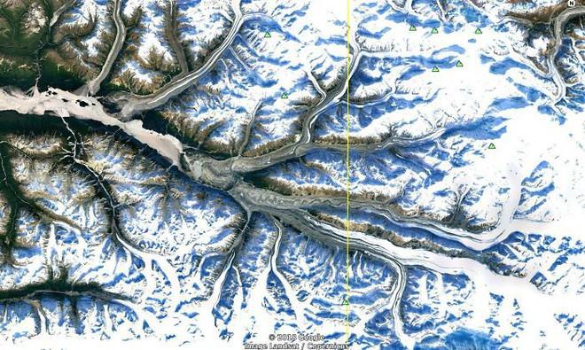 Không cần đi du lịch, Google Earth sẽ giúp bạn khám phá vẻ đẹp muôn màu của trái đất nhìn từ vệ tinh - Ảnh 6.