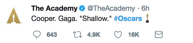 Fairplay như Lady Gaga: Đe doạ bỏ diễn Oscar để đòi công bằng cho đối thủ - Ảnh 2.