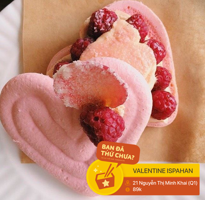 Tết vừa qua, các thương hiệu lại bắt đầu tung ra những món ăn chào đón Valentine ngọt ngào - Ảnh 4.