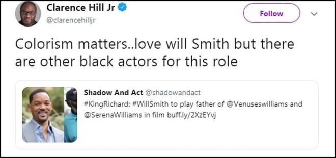 Sự nghiệp đen như tiền đồ chị Dậu nhưng da của Will Smith vẫn chưa đủ đen để vào vai cha của chị em Williams - Ảnh 1.