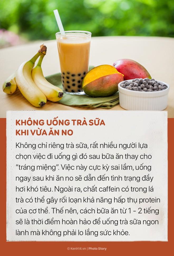 Nhiều người thích uống trà sữa nhưng không phải ai cũng biết những mẹo nhỏ để không bị tăng cân này - ảnh 2