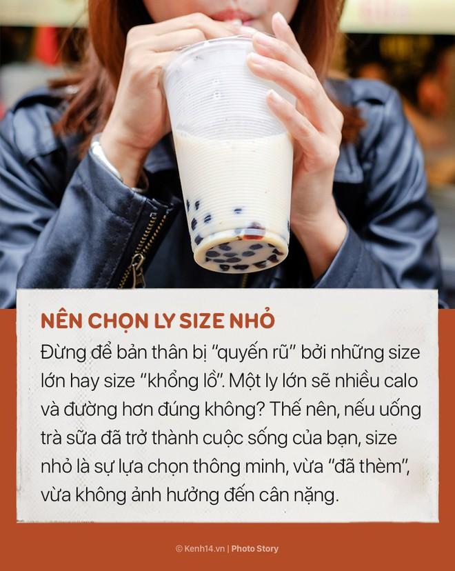 Nhiều người thích uống trà sữa nhưng không phải ai cũng biết những mẹo nhỏ để không bị tăng cân này - ảnh 3
