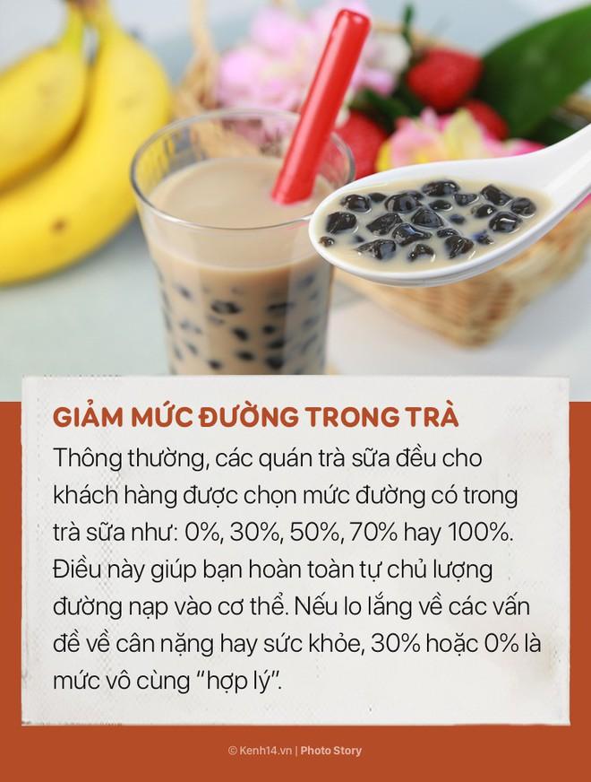 Nhiều người thích uống trà sữa nhưng không phải ai cũng biết những mẹo nhỏ để không bị tăng cân này - ảnh 5