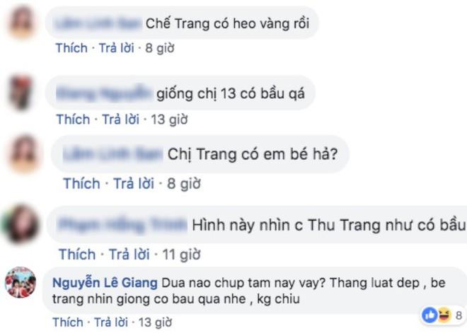Lộ vòng bụng lớn bất thường, diễn viên hài Thu Trang đang mang thai lần hai? - ảnh 2