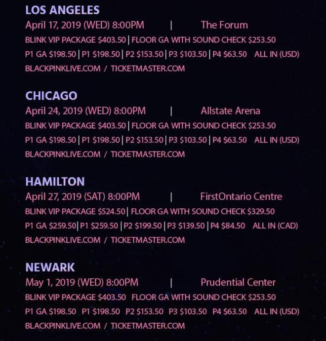 """BLACKPINK và chuỗi concert ế chỏng chơ tại Châu Âu và Bắc Mỹ: """"Trái đắng"""" cho YG vì không lượng sức """"gà""""? - Ảnh 5."""