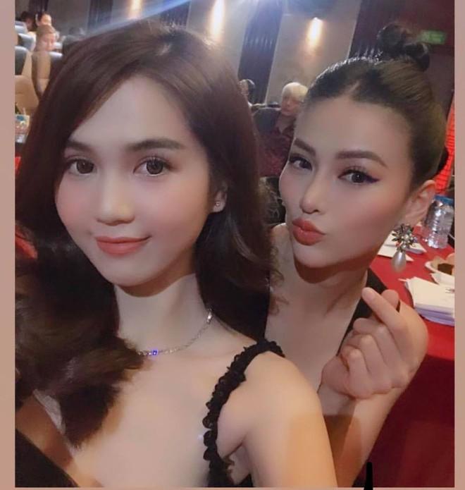 Ngọc Trinh gặp lại Phương Khánh sau 5 năm: Cô em Ngọc My đầy mụn ngày nào nay là Miss Earth, lột xác không nhận ra - ảnh 2
