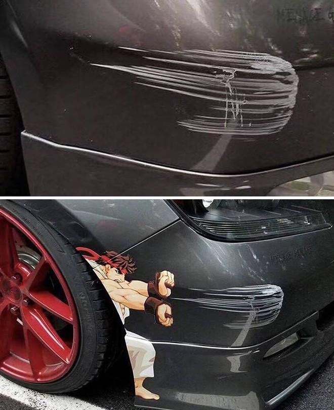Chết cười với những trường hợp sửa xe móp bằng IQ vô cực thay vì đem ra thợ - Ảnh 3.