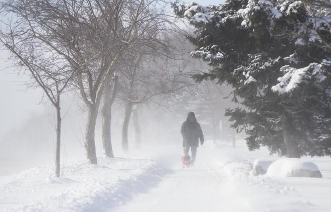 Canada chìm trong đợt giá rét nguy hiểm, lạnh tới -50 độ C - ảnh 1