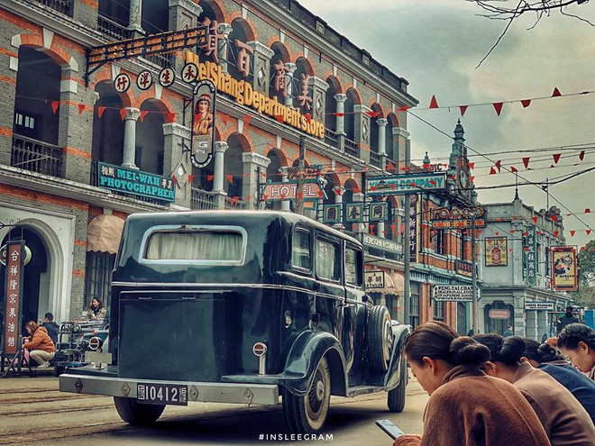 Tham quan phim trường nổi tiếng hàng đầu Thượng Hải: Tân Dòng Sông Ly Biệt và 1 loạt tác phẩm nổi tiếng đều quay ở đây - ảnh 7