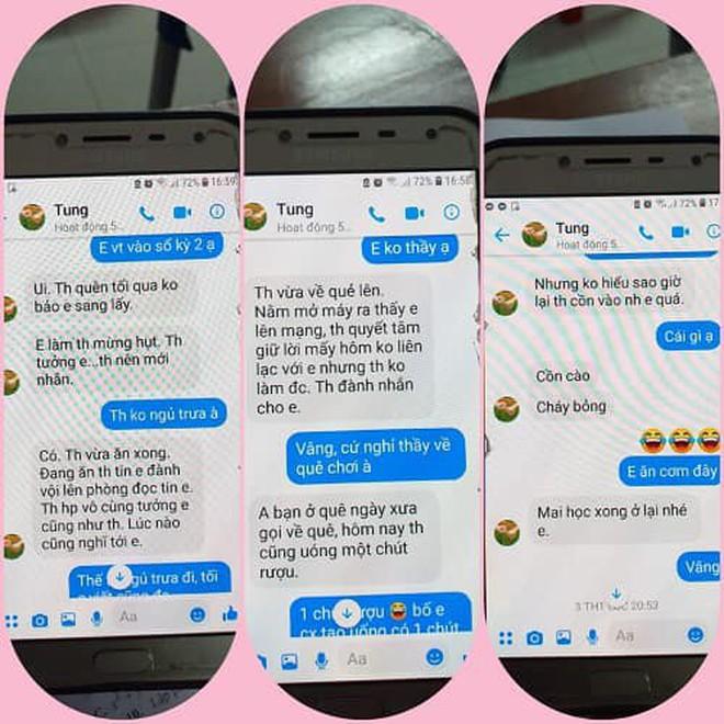 """Nghi án thầy giáo trường chuyên nhắn tin """"gạ tình"""" nữ sinh lớp 10, Sở GD&ĐT Thái Bình yêu cầu làm rõ vụ việc - Ảnh 4"""