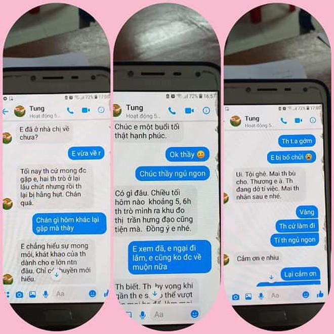 """Nghi án thầy giáo trường chuyên nhắn tin """"gạ tình"""" nữ sinh lớp 10, Sở GD&ĐT Thái Bình yêu cầu làm rõ vụ việc - Ảnh 3"""