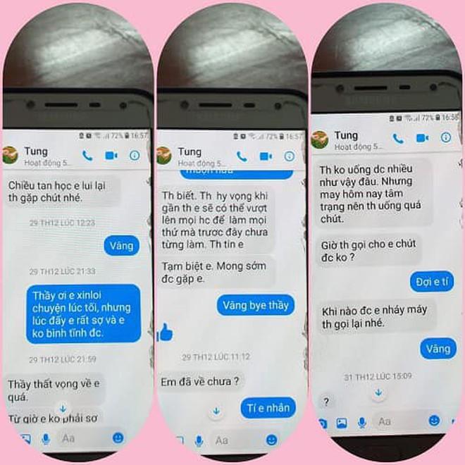 """Nghi án thầy giáo trường chuyên nhắn tin """"gạ tình"""" nữ sinh lớp 10, Sở GD&ĐT Thái Bình yêu cầu làm rõ vụ việc - Ảnh 2"""