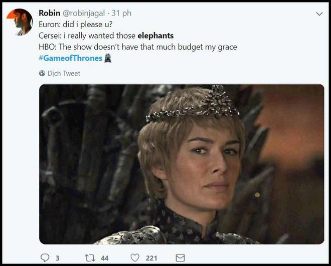 Xem tập đầu mùa 8, fan cười: Game of Thrones đổ nửa gia tài vào làm cảnh mở màn hả? - ảnh 4