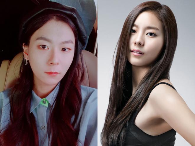 Sốc với ngoại hình idol từng gây bão ở Produce 101: Tóc dài thướt tha khiến con gái ghen tị, ai ngờ là nam rapper - ảnh 6