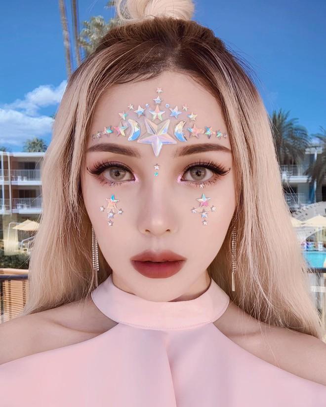 Makeup đỉnh cao, góc nào cũng đẹp thần tiên, Pony xứng đáng được trao danh diệu nữ hoàng châu Á của Coachella năm nay - ảnh 2