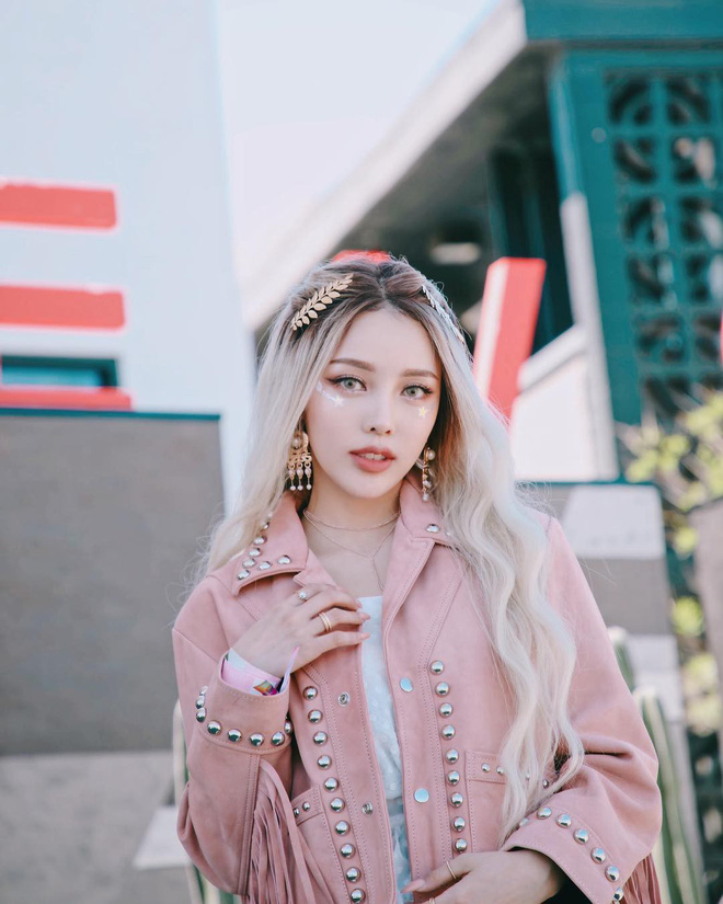Makeup đỉnh cao, góc nào cũng đẹp thần tiên, Pony xứng đáng được trao danh diệu nữ hoàng châu Á của Coachella năm nay - ảnh 6