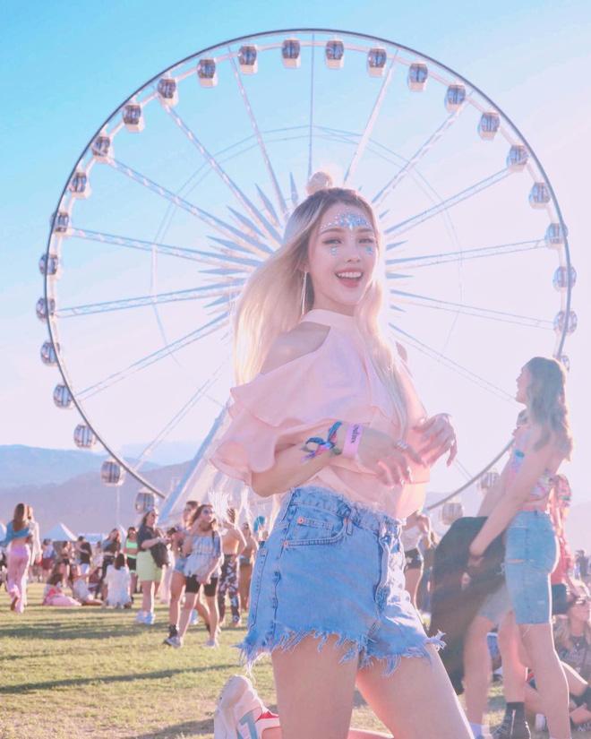 Makeup đỉnh cao, góc nào cũng đẹp thần tiên, Pony xứng đáng được trao danh diệu nữ hoàng châu Á của Coachella năm nay - ảnh 7