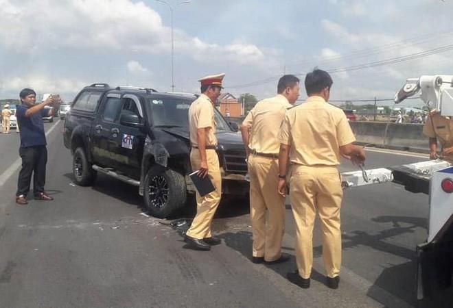 Đại úy CSGT trên xe đặc chủng bị tài xế côn đồ ép ngã ở Vũng Tàu đã qua đời - ảnh 1
